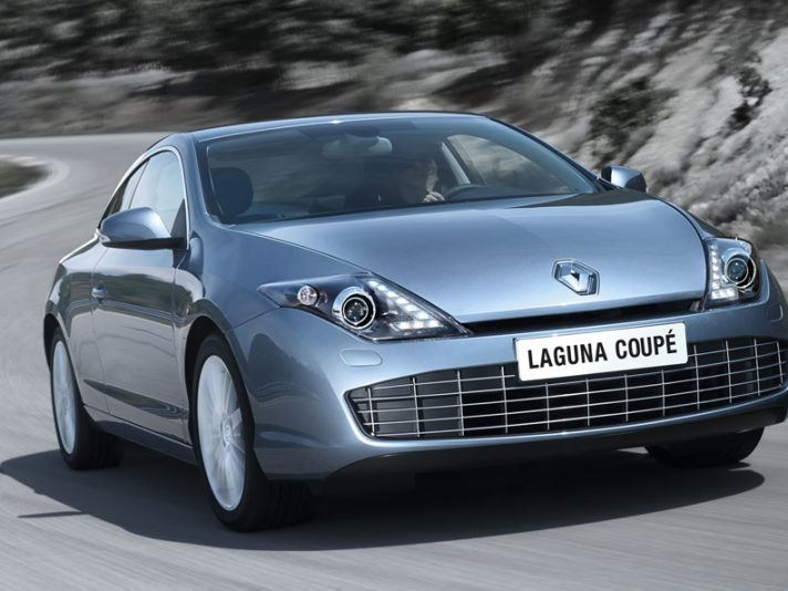 Renault Laguna Coupe - Anteriore in motion