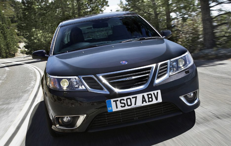Saab 9-3 SportHatch restyling frontale