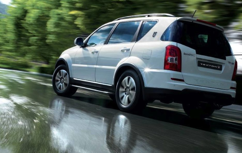 Ssangyong Rexton W - In motion