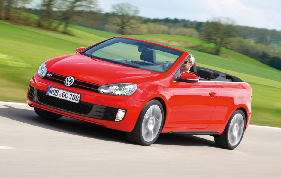Volkswagen Golf GTI Cabrio - Frontale in motion