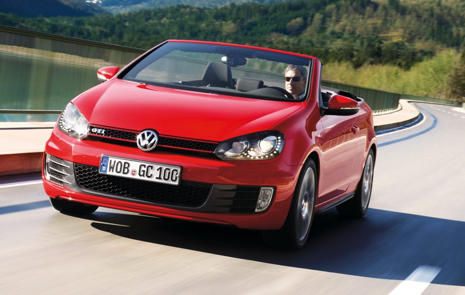 Volkswagen Golf GTI Cabrio - In motion