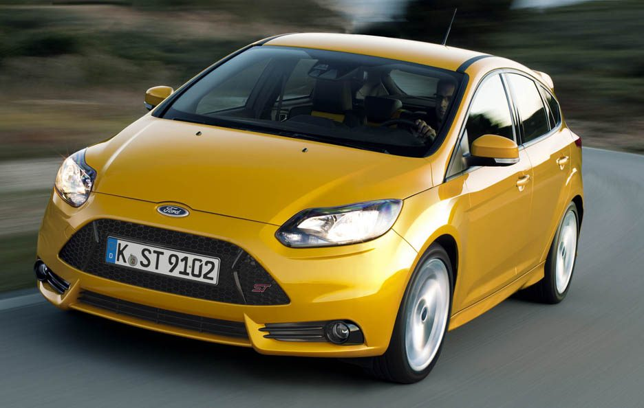 Ford Focus ST - Frontale in motion