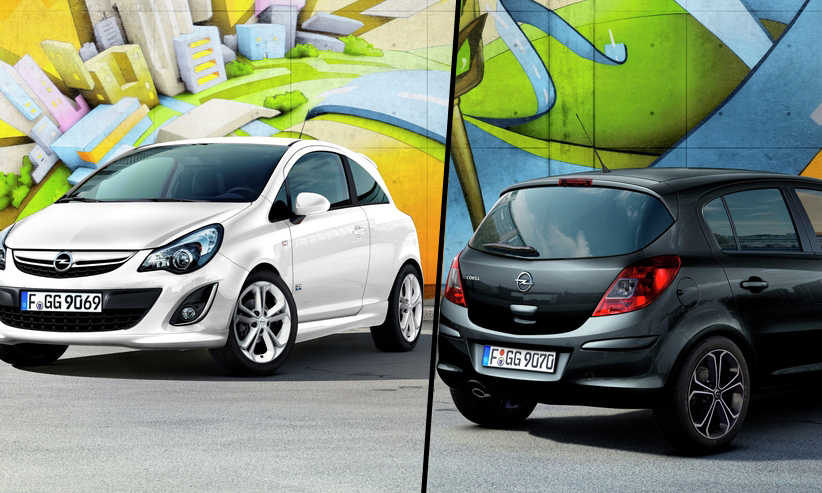 Opel Corsa All Black:All White