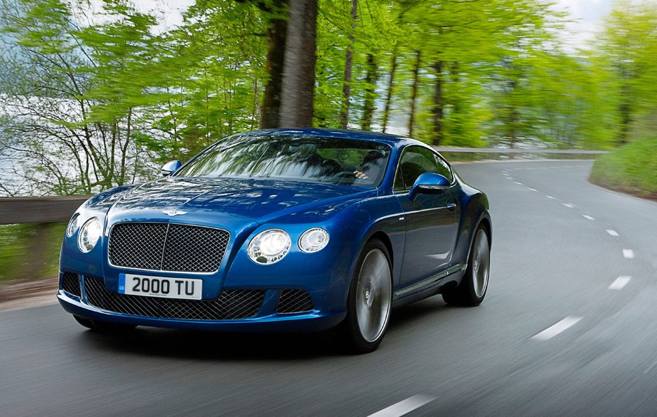 Bentley Continental GT Speed - In motion