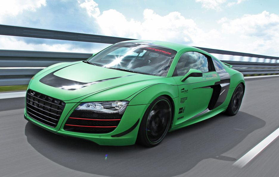 Audi R8 V10 Racing One - In motion