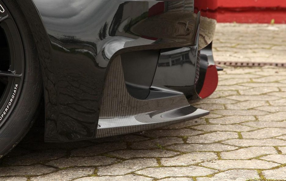 Alpha N-Performance - Bmw Serie 1M -  Splitter in carbonio