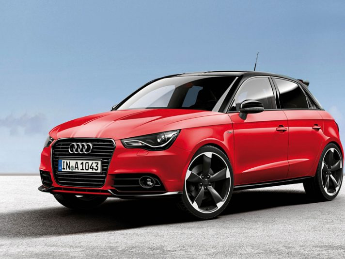 Audi A1: nuove versioni Amplified Red e Amplified White