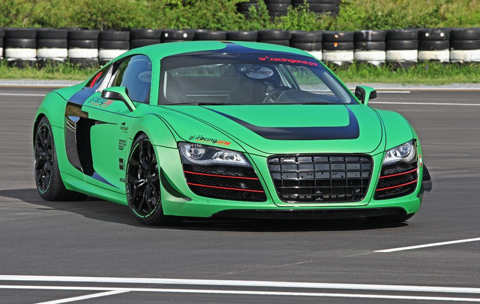 Audi R8 V10 Racing One - L'anteriore