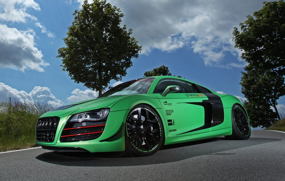 Audi R8 V10 Racing One - Profilo frontale basso