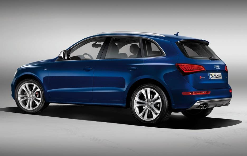 Audi SQ5 TDI - Laterale