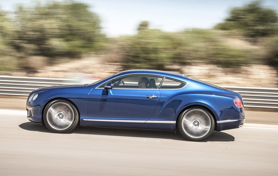 Bentley Continental GT Speed - Laterale