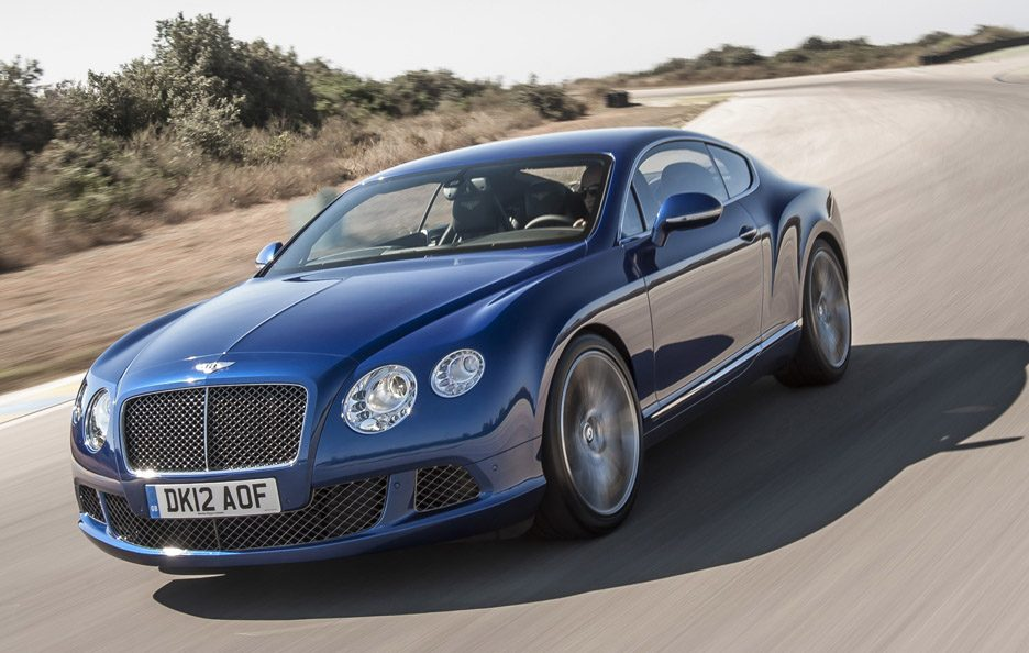 Bentley Continental GT Speed - Profilo frontale in motion
