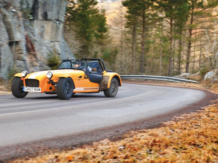 Caterham Seven Supersport: viaggio verso l'ignoto