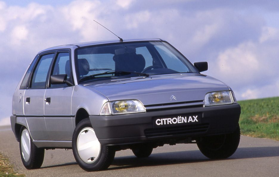 Citroën AX restyling