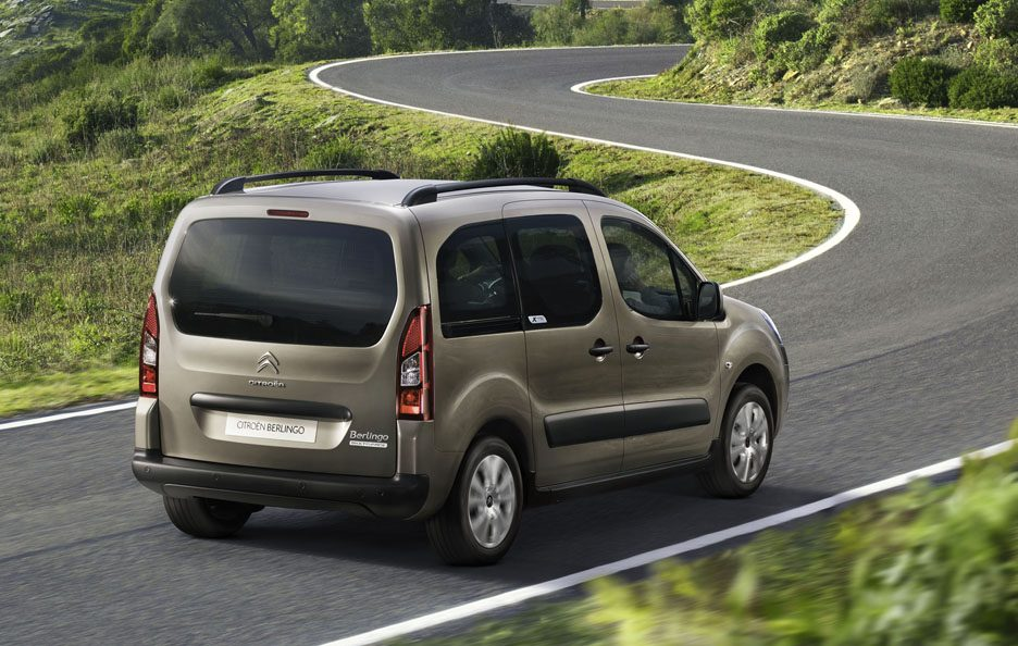 Citroën Berlingo seconda generazione restyling tre quarti posteriore