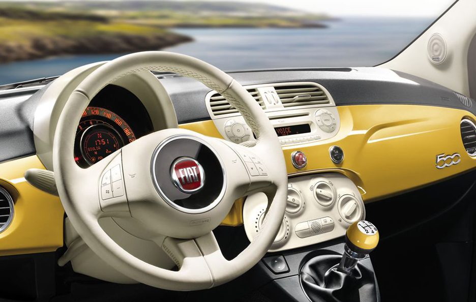 Fiat 500 My 2013 - Interni