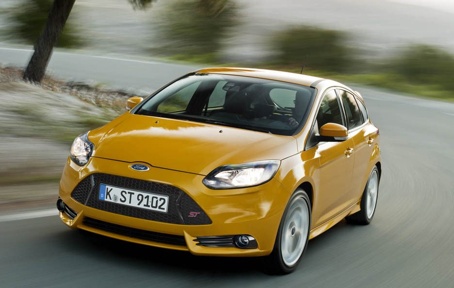 Ford Focus ST - In motion
