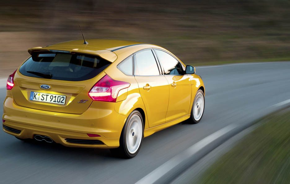 Ford Focus ST - Posteriore in motion