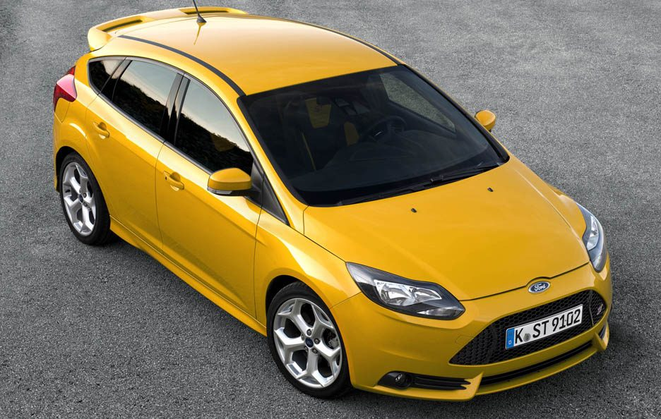 Ford Focus ST - Profilo frontale