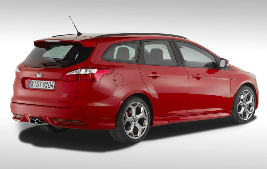 Ford Focus ST Station Wagon - Linee posteriore