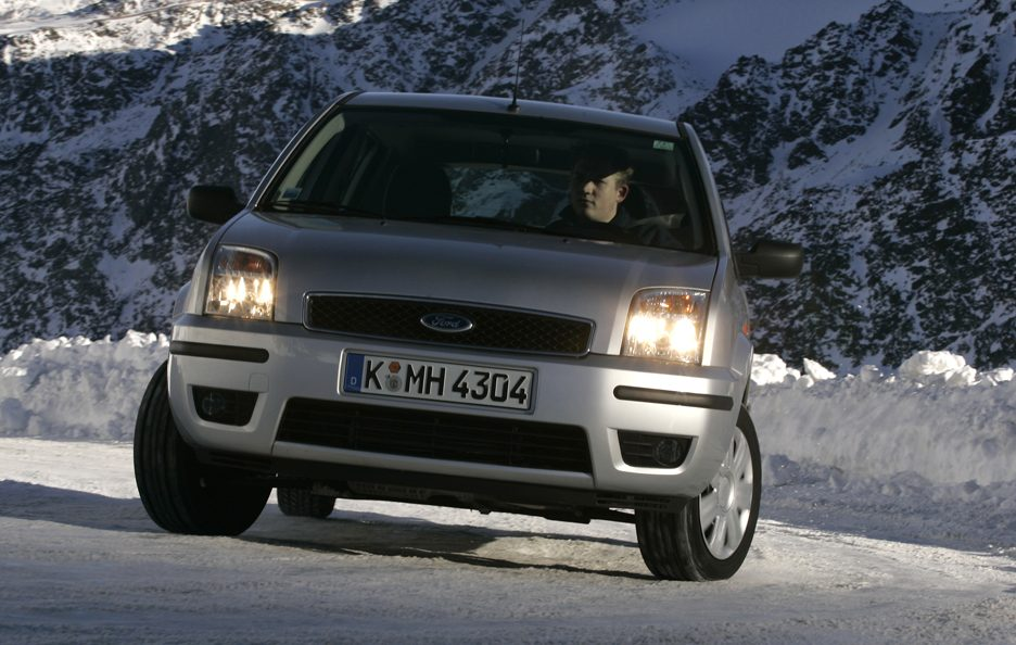 Ford Fusion frontale