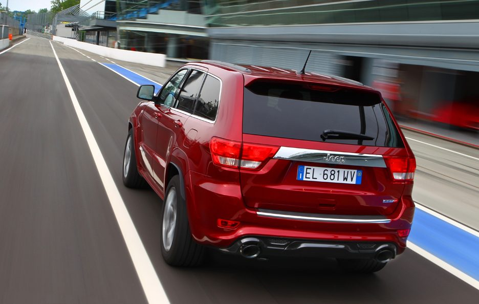 Jeep Grand CHerokee SRT - Coda
