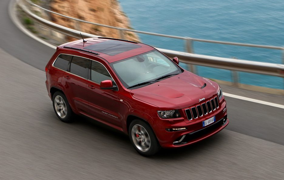 Jeep Grand CHerokee SRT - Laterale