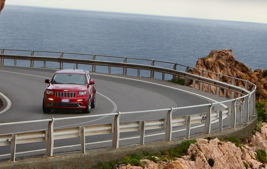Jeep Grand CHerokee SRT - Panoramica