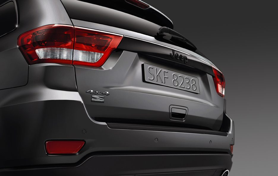 Jeep Grand Cherokee S Limited - Posteriore