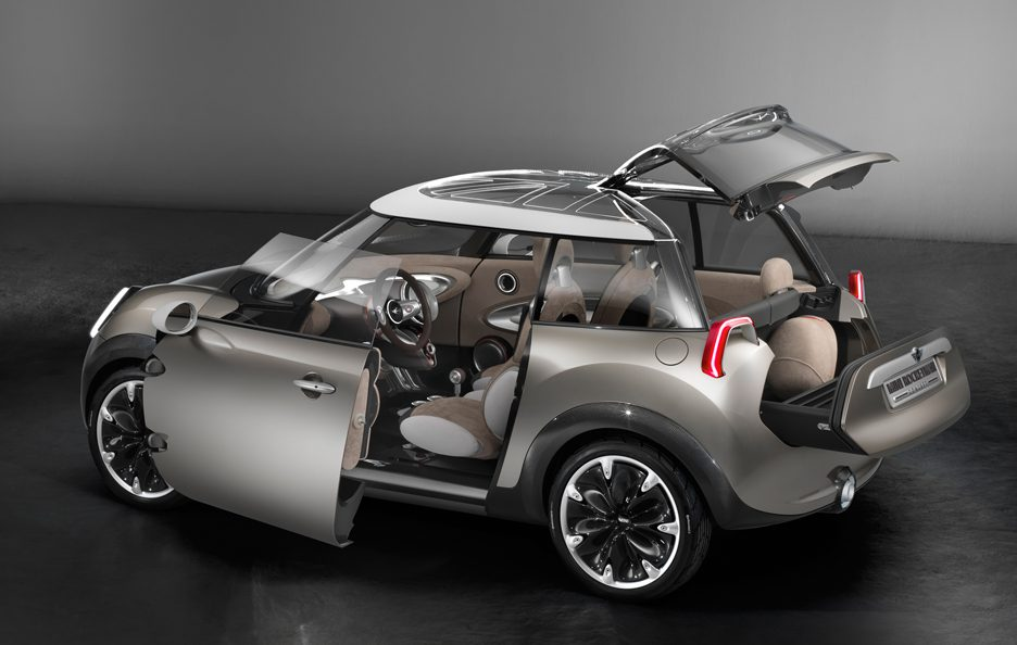Mini Rocketman - Ginevra 2011 - Porte