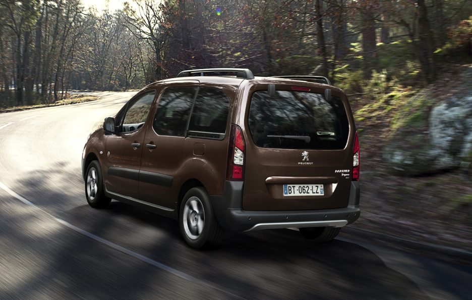 Peugeot Partner Tepee restyling tre quarti posteriore