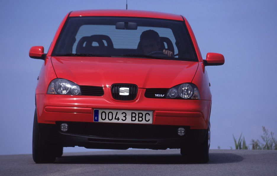 Seat Arosa restyling frontale