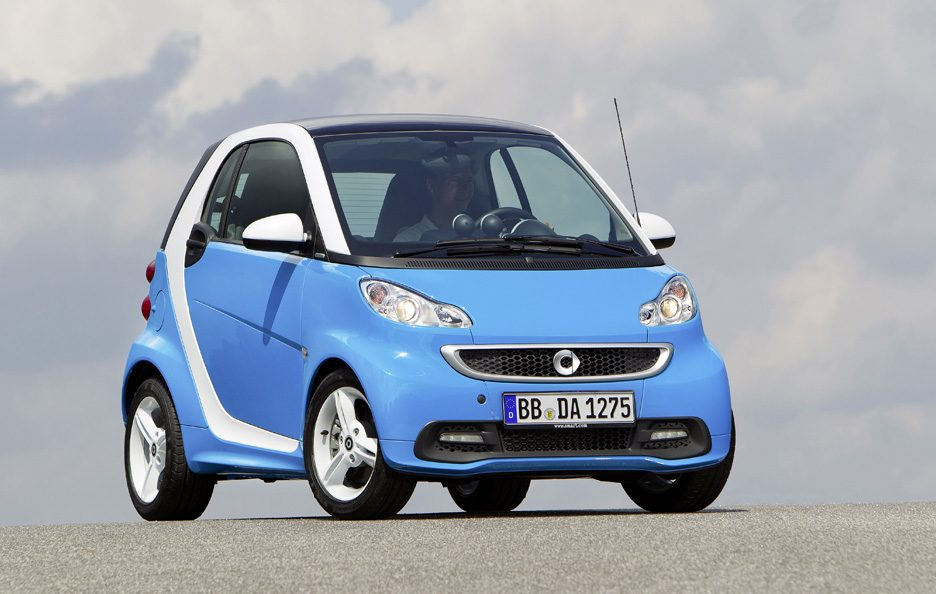 Smart Fortwo Edition Iceshine - Frontale