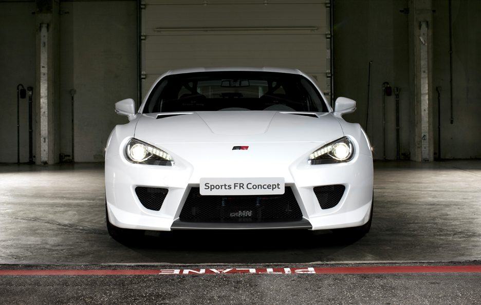Toyota GRMN Sports FR Concept - Frontale