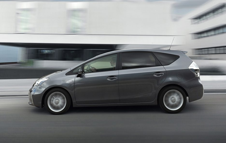 Toyota Prius+ - Laterale in motion