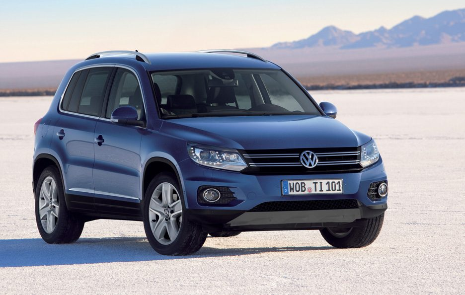 Volkswagen Tiguan restyling Track & Style