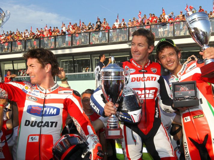 WDW 2012 - Valentino Rossi, Nicky Hayden e la Drag Race