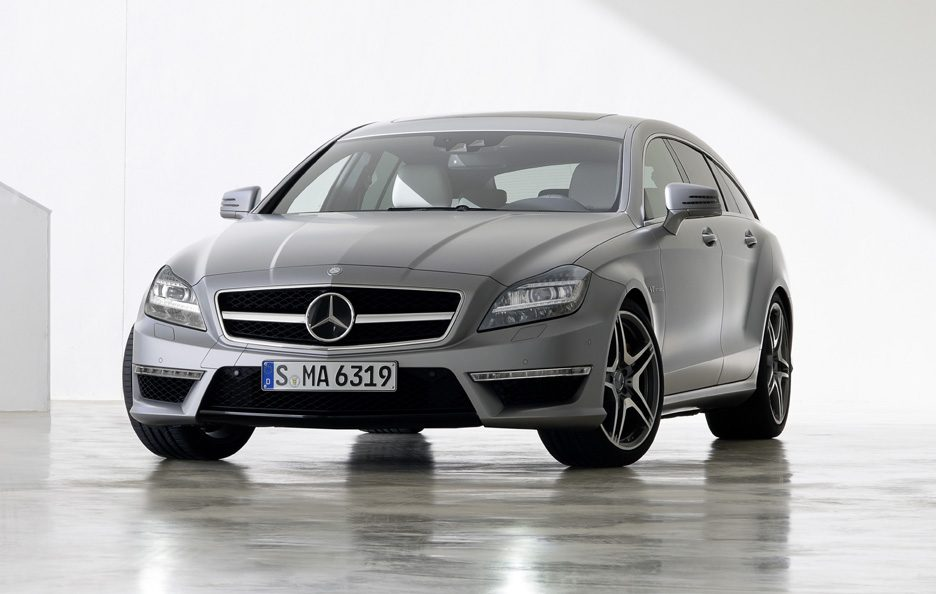 Mercedes CLS 63 AMG Shooting Brake - Profilo frontale