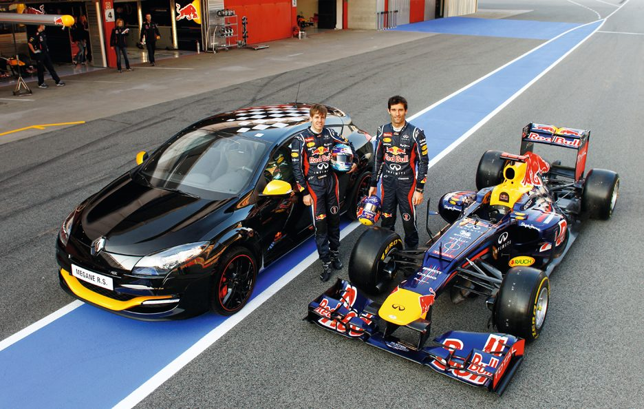 Renault Megane RS RB7 - Con la Red Bull