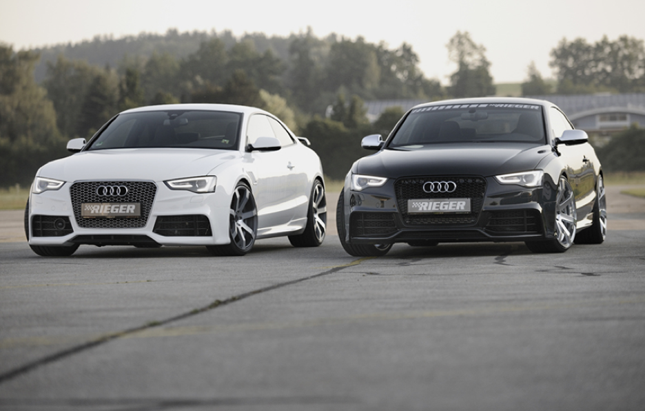 Audi A5 by Rieger - Frontale