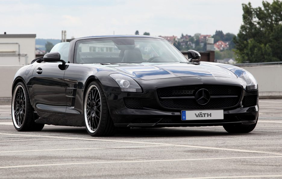 Mercedes SLS Roadster by Vath - Frontale
