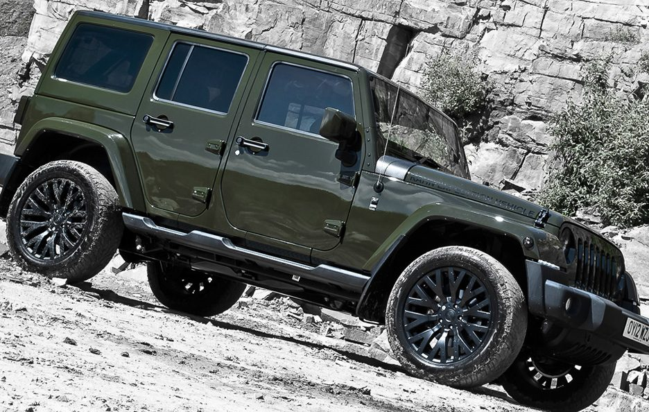Jeep Wrangler by Project Kahn - Laterale