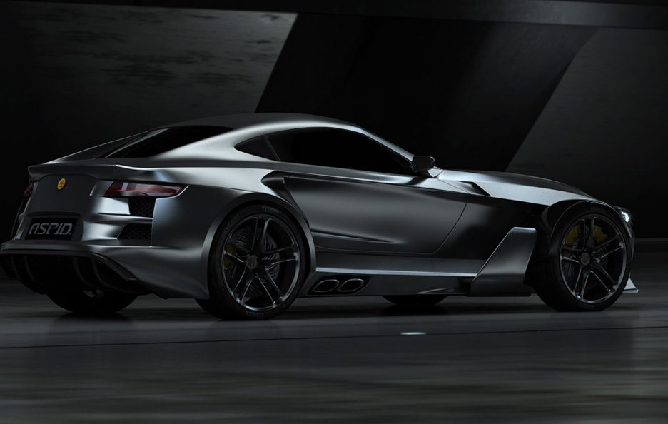 Aspid GT-21 - Il laterale