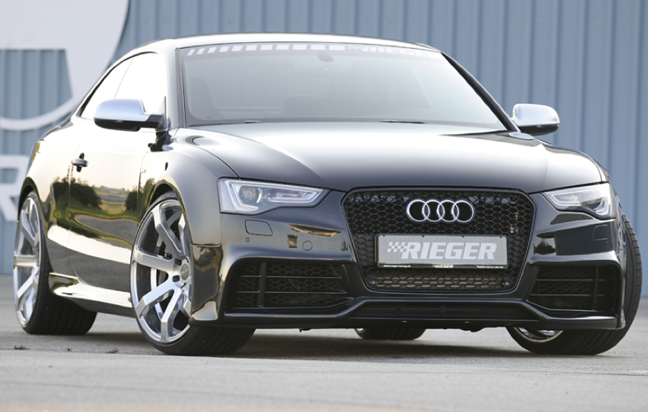 Audi A5 by Rieger - Anteriore