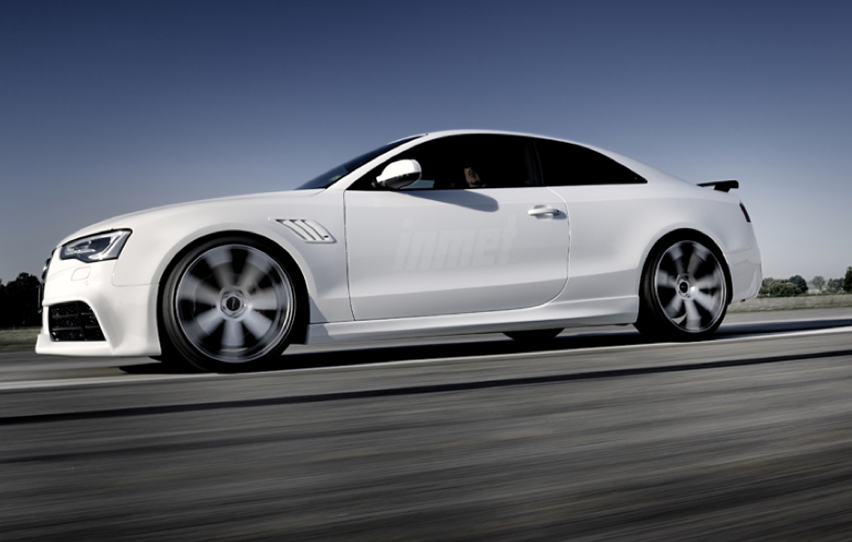 Audi A5 by Rieger - Laterale in motion