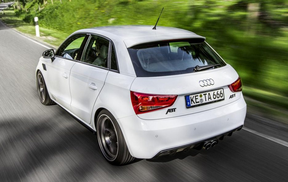 Audi AS1 Sportback by ABT - Posteriore