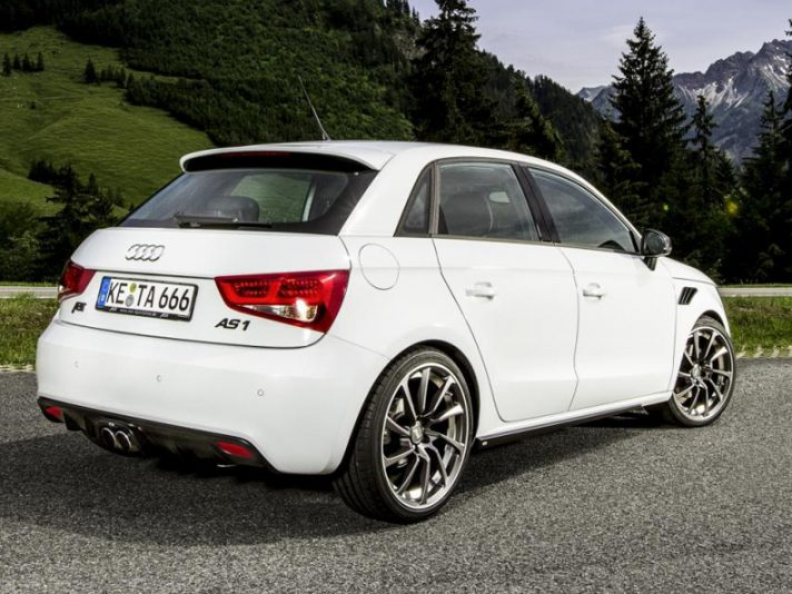 Audi AS1 Sportback by ABT - Profilo posteriore