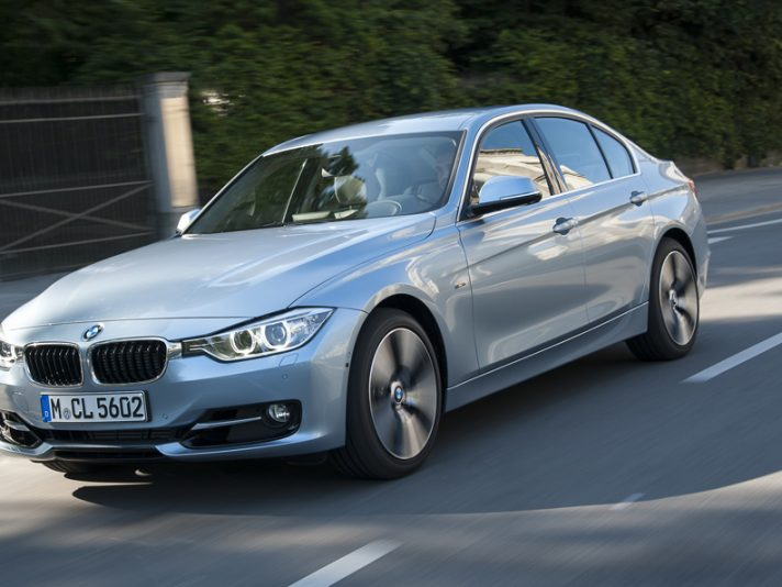 BMW ActiveHybrid 3 - Anteriore in motion