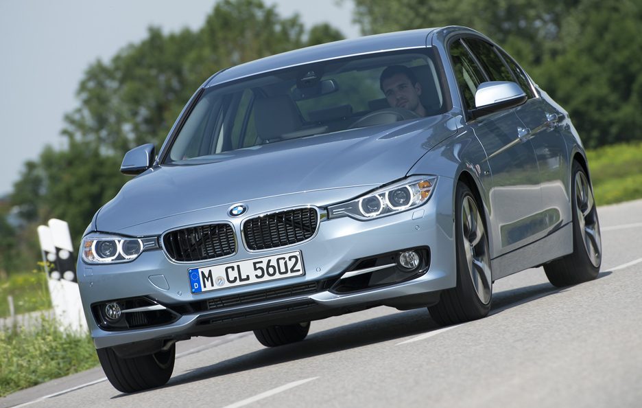 BMW ActiveHybrid 3 - Il muso