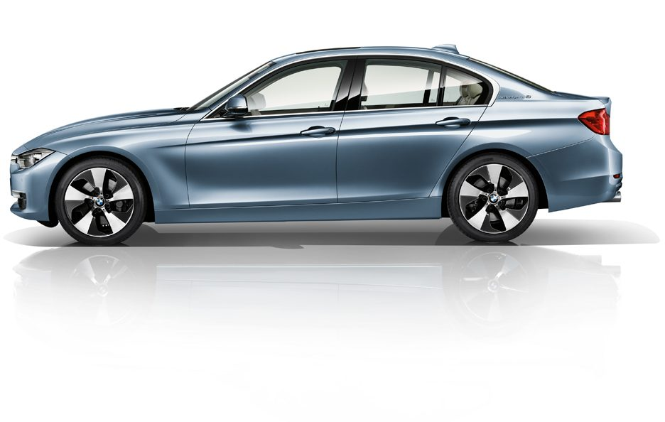 BMW ActiveHybrid 3 - Laterale